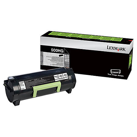 Lexmark™ 50F0H0G High-Yield Black Toner Cartridge