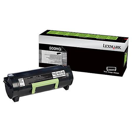 Lexmark™ 50F0H0G High-Yield Black Toner Cartridge