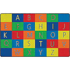 Flagship Carpets Alphabet Seating Rug 7