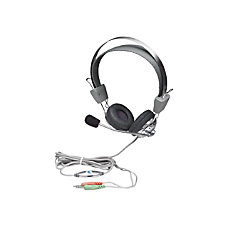 Manhattan Stereo Headset with Flexible Microphone