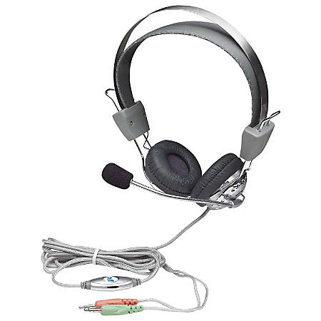 Manhattan Stereo Headset with Flexible Microphone Boom