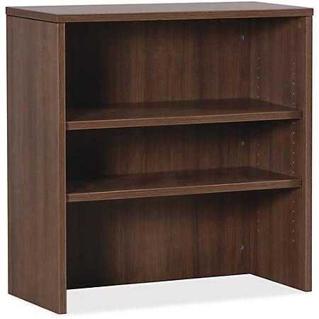 Lorell® Essentials Series Stack-on Bookcase, Walnut