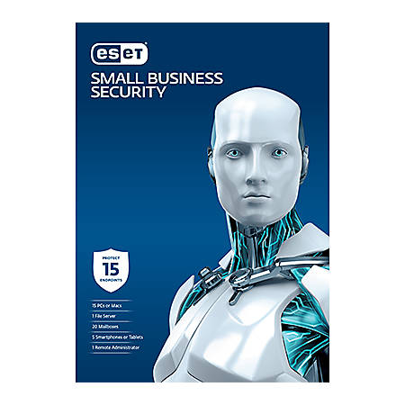 Small Business Security Pack - 15 Users 3 Years License, Download Version