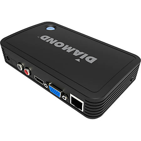 DIAMOND Stream2TV - Functions: Video Streaming, Video Decoding - USB - 1920 x 1080 - VGA - Audio Line Out - Linux, iOS, Android