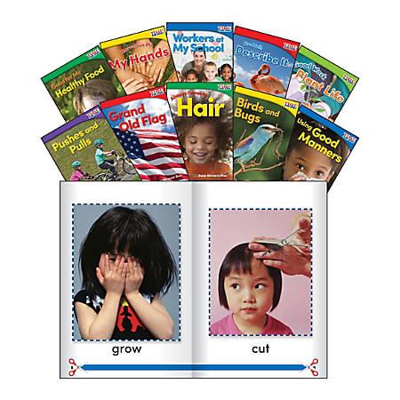 Teacher Created Materials TIME FOR KIDS® Nonfiction Book Set, Set 1, Set Of 10 Books, Kindergarten