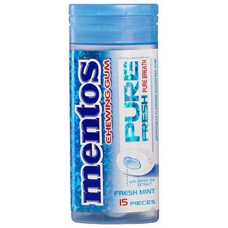 Mentos® Pure Fresh Mint Gum Pocket Bottle, 0.046 Oz