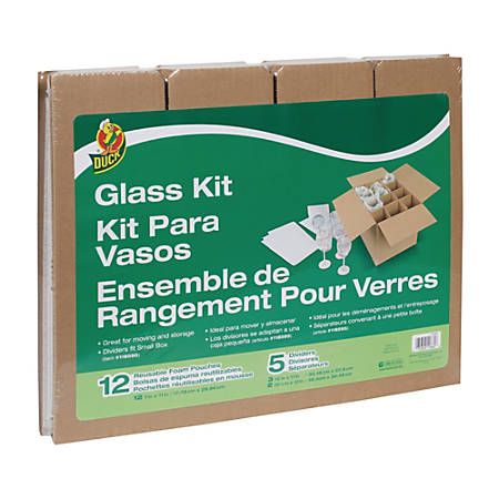 Duck® Glass Storage Kit