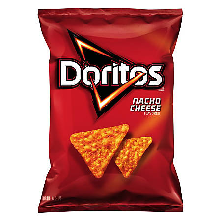 Doritos Nacho Cheese Chips, 2.875 Oz