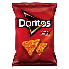 Doritos Nacho Cheese Chips 2875 Oz