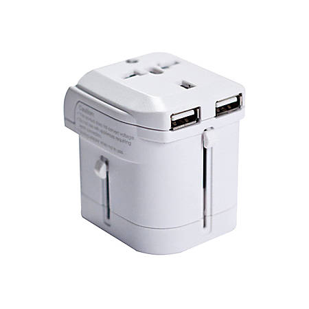 I/OMagic Power Plug - USB, AC Power - 110 V AC / 8 A, 220 V AC