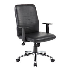 Boss Office Products Retro Vinyl Mid