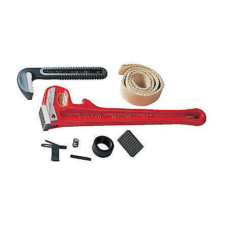 "RIDGID Replacement Heel Jaw and Pin Assembly Parts for 12"" and 14"" Pipe Wrenches"
