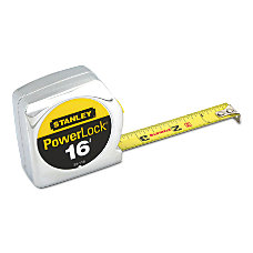 Stanley Tools Powerlock Tape Measure Standard