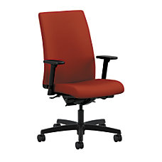 HON Ignition Mid Back Chair PoppyBlack