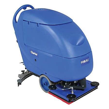 Clarke® Focus II L20 BOOST Compact Auto Scrubber With Onboard Chemical Mixing System