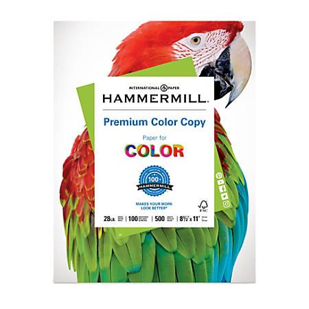 Hammermill color copy paper 8 12 x 11 28 lb ream of 500 sheets by hammermill color copy paper 8 12 cheaphphosting Images