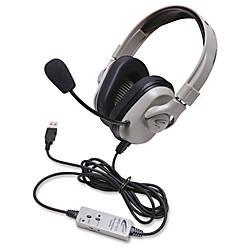Califone Washable Headphone W USB In