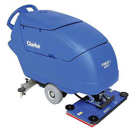 Clarke Focus Ii Boost 32 Walk Behind Auto Scrubber With Onboard