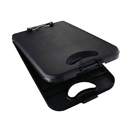 "Saunders® Deskmate II Plastic Portable Desktop, 8 1/2"" x 12"", Black"