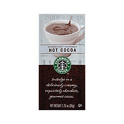 Starbucks Gourmet Hot Cocoa 125 Oz