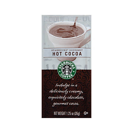 Starbucks® Gourmet Hot Cocoa, 1.25 Oz., Box Of 24
