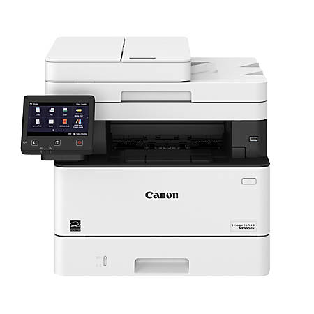 Canon imageCLASS® MF445dw Wireless Monochrome Laser All-In-One Printer, Scanner, Copier, Fax, 3514C004