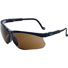 Sperian Wraparound Safety Eyewear BlackEspresso