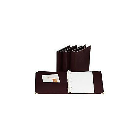 "Cardinal® Business Collection Presentation Binder, 1 1/2"" Rings, Burgundy"
