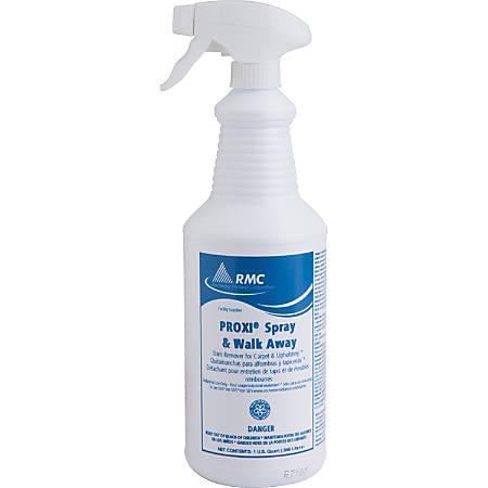 RMC Proxi Spray/Walk Away Cleaner - Spray - 0.25 gal (32 fl oz) - 12 / Carton - Clear