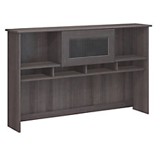 Bush Furniture Cabot Hutch Heather Gray