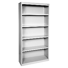 Lorell Fortress Series Bookcase 5 Shelves