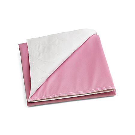 """Sofnit® 300 Reusable Underpads, 18"""" x 24"""", Pink/White, Case Of 12"""