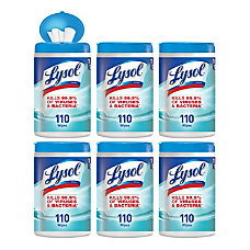 Lysol Disinfecting Wipes Wipe 12 fl