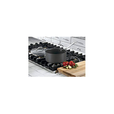 Cuisinart Chef's Classic 6193-20 Saucepan - 3 quart Saucepan, Lid - Anodized Aluminum, Stainless Steel Handle, Glass Lid - Oven Safe