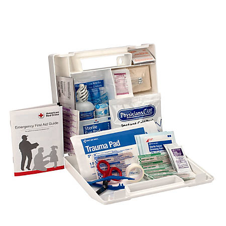 First Aid Only™ OSHA Compliant Bulk 25-Person First Aid Kit, 106 Pieces