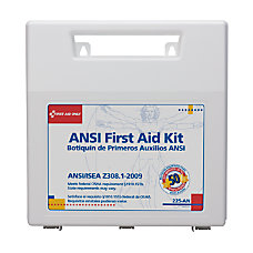 First Aid Only 50 person Worksite