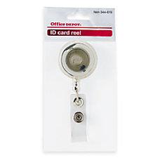 Office Depot Brand Card Reel Clear