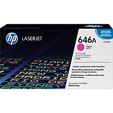 HP 646A Magenta Toner Cartridge CF033A