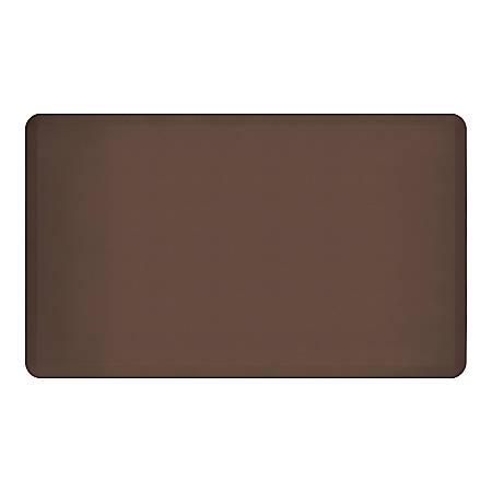"GelPro NewLife EcoPro Commercial Grade Anti-Fatigue Floor Mat, 60"" x 36"", Brown"