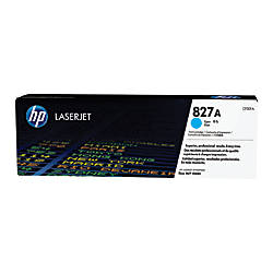 HP 827A CF301A Cyan Toner Cartridge