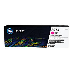 HP 827A CF303A Magenta Toner Cartridge