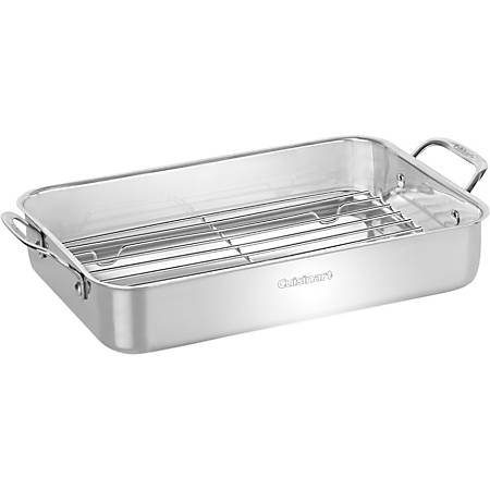 Cuisinart 14'' Lasagna Pan with Stainless Roasting Rack
