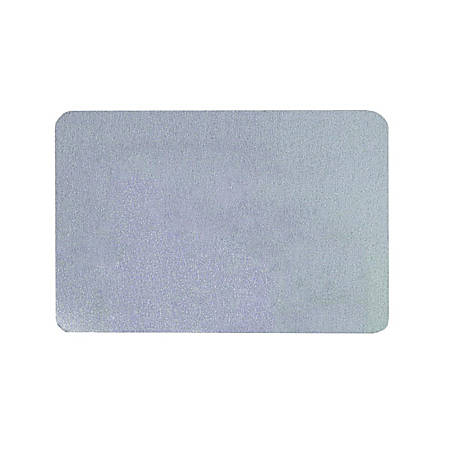 Quartet® Bulletin Board, Fabric, 3' x 2', Light Blue, Frameless