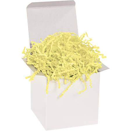 Office Depot® Brand Crinkle Paper, Lemon, 10-Lb Case