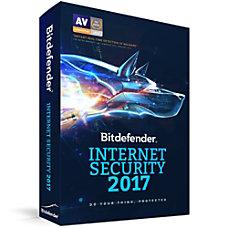 Bitdefender Internet Security 2017 10 Users