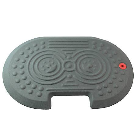 """AFS-TEX System 2000X Antifatigue Floor Mat, 24"""" x 16"""", Gray"""
