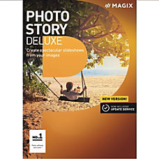 MAGIX Photostory 2018 Deluxe Download Version
