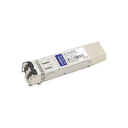AddOn Juniper Networks SFP-10GE-SR Compatible TAA Compliant 10GBase-SR SFP+ Transceiver (MMF, 850nm, 300m, LC, DOM)