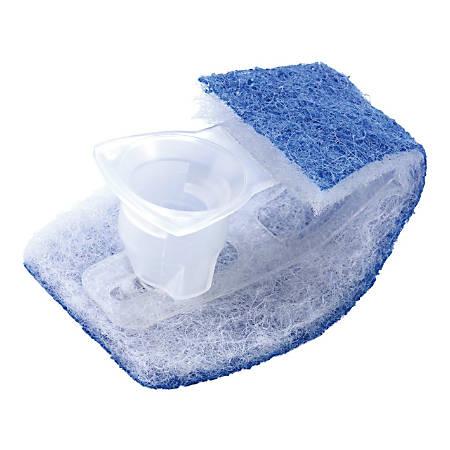 Scotch-Brite™ Disposable Toilet Scrubber Refills, White/Blue, Box Of 10