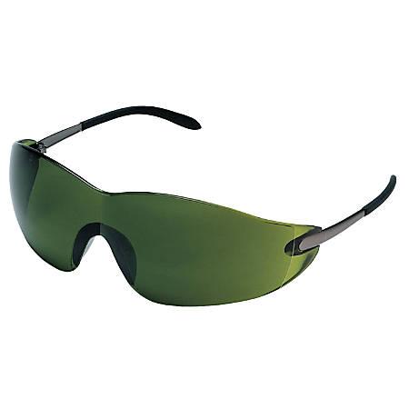 Blackjack Elite Protective Eyewear, Green 3.0 Lens, Duramass Scratch-Resistant